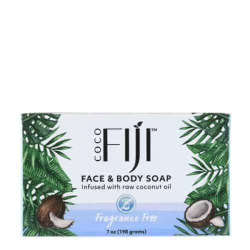 Coconut Oil Infused Face & Body Soap