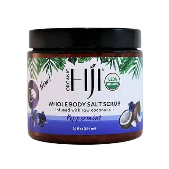 Organic Coconut Oil Infused Salt Scrub