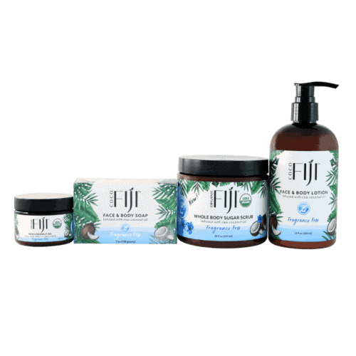 Fragrance Free Product Set for Sensitive Skin