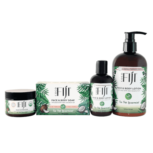 Tea Tree Spearmint Product Set For Healing