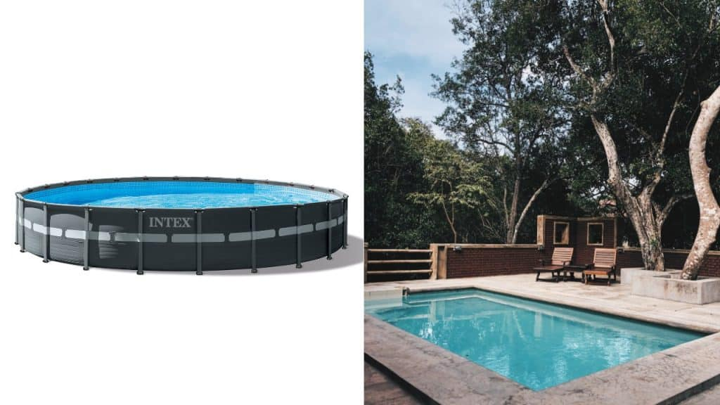 intex ultra frame pool review vs in-ground pool