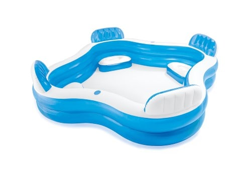 how to clean inflatable pools