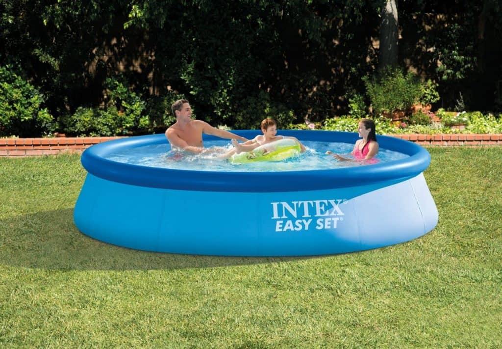 intex easy set pool sizes