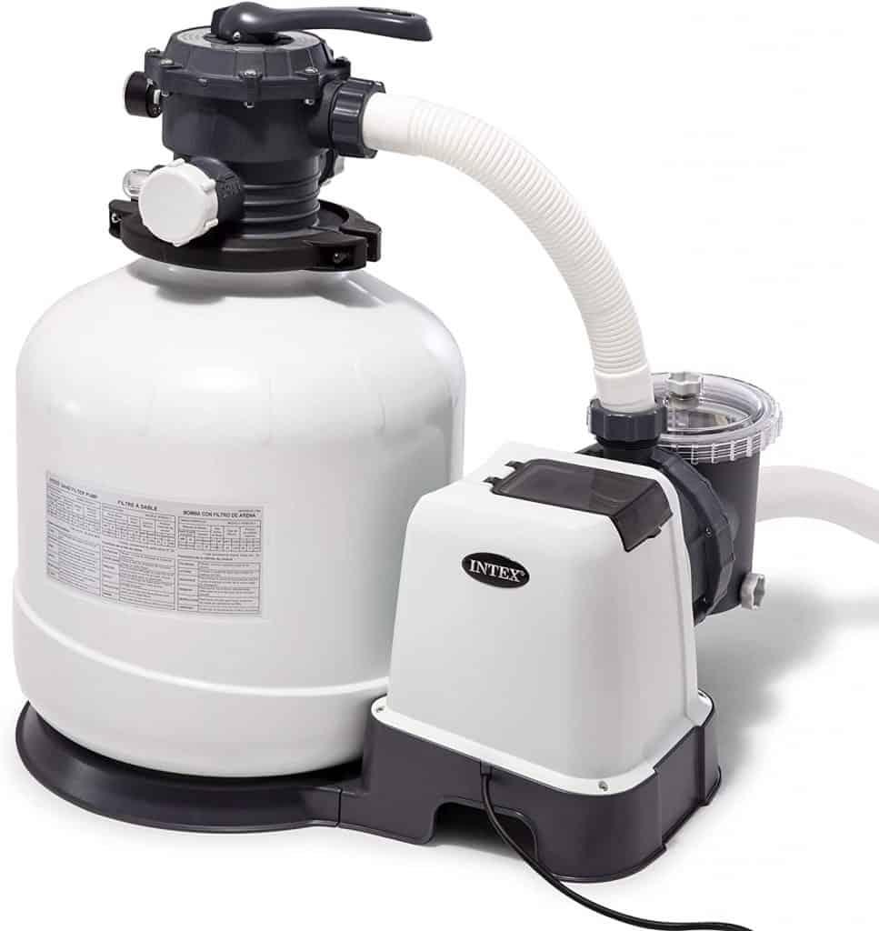 intex pool pump and filter system setup