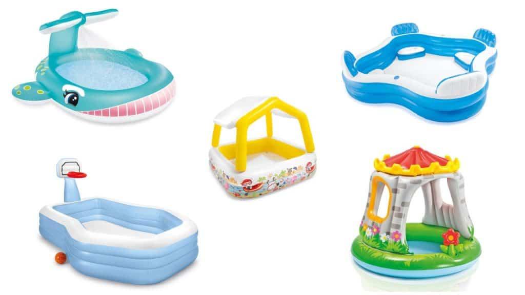intex pool sizes kiddie set