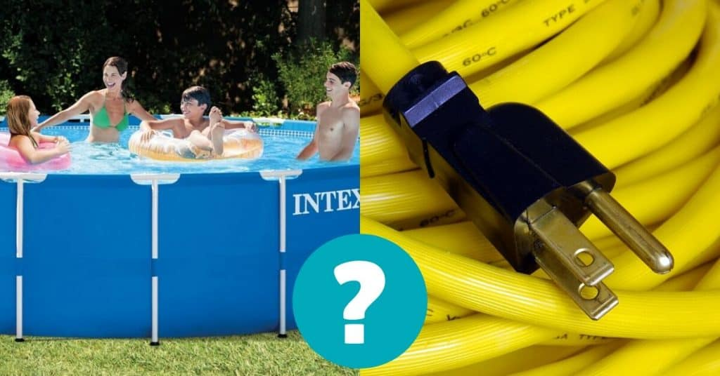Extension cords for pool pumps
