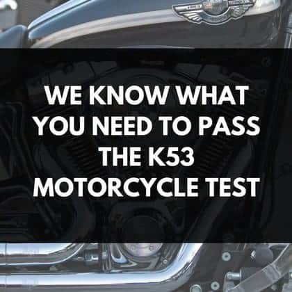 K53 Motorcycle Test Featured