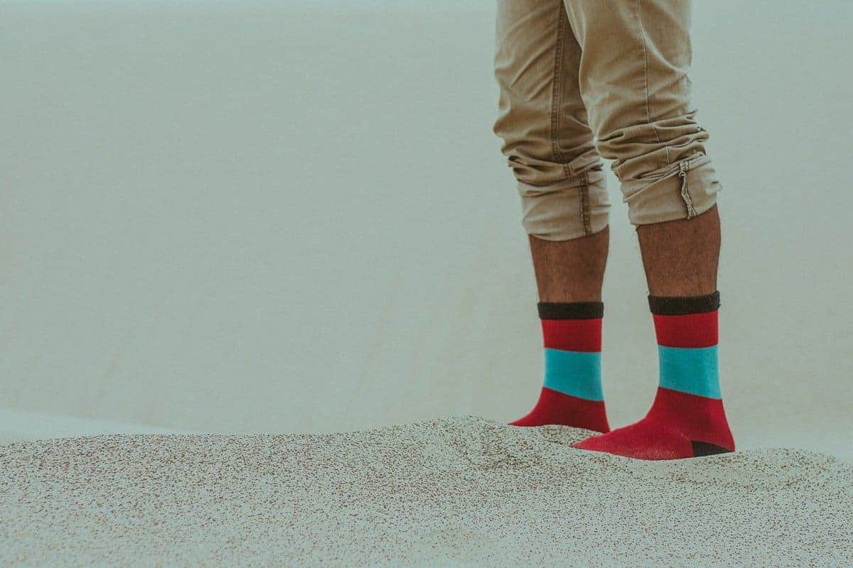 grounding with socks