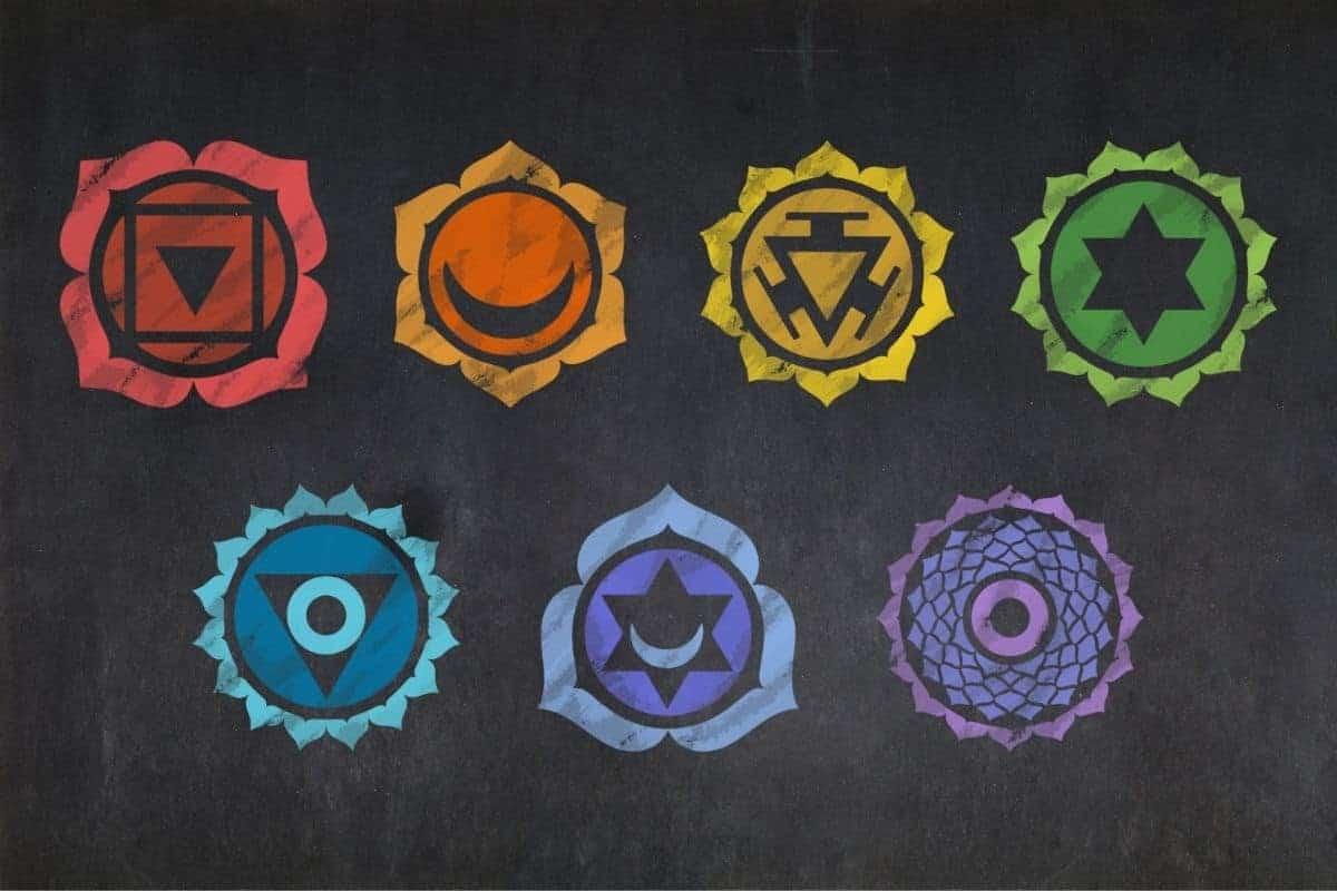 7 chakra colors