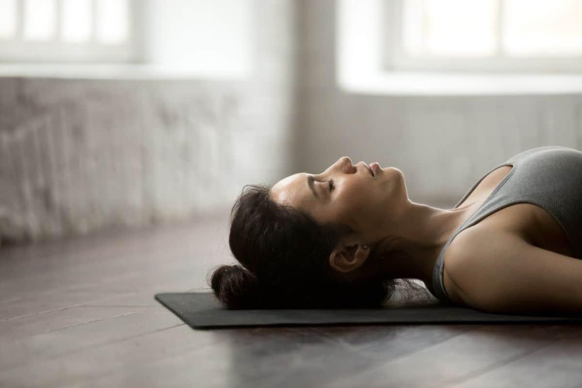 meditation lying down