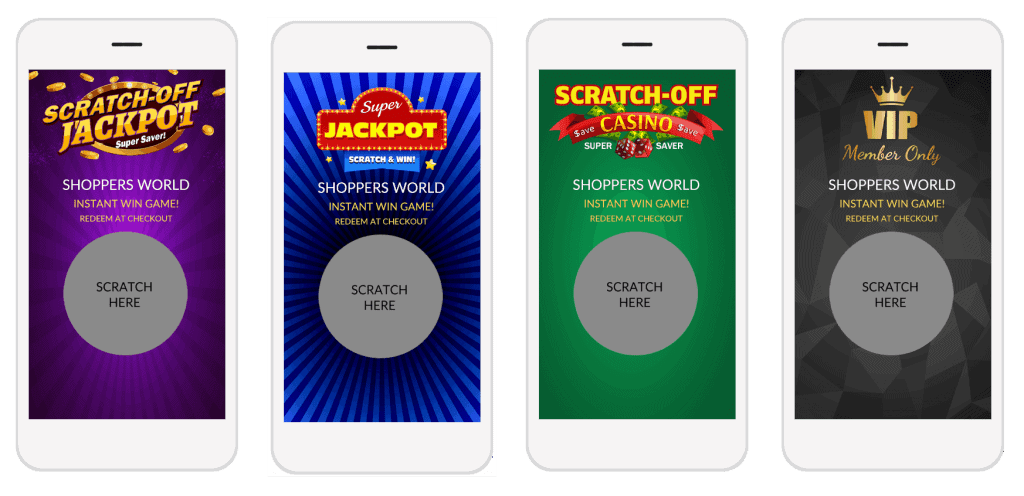New! Casino-Themed Scratch-off Games Graphics - free download.