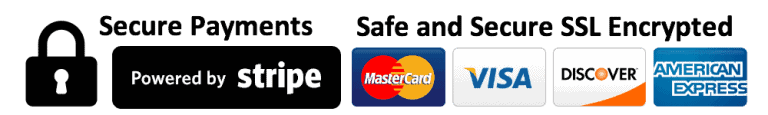 Stripe Checkout - All major credit cards accepted. 100% money-back guarantee.