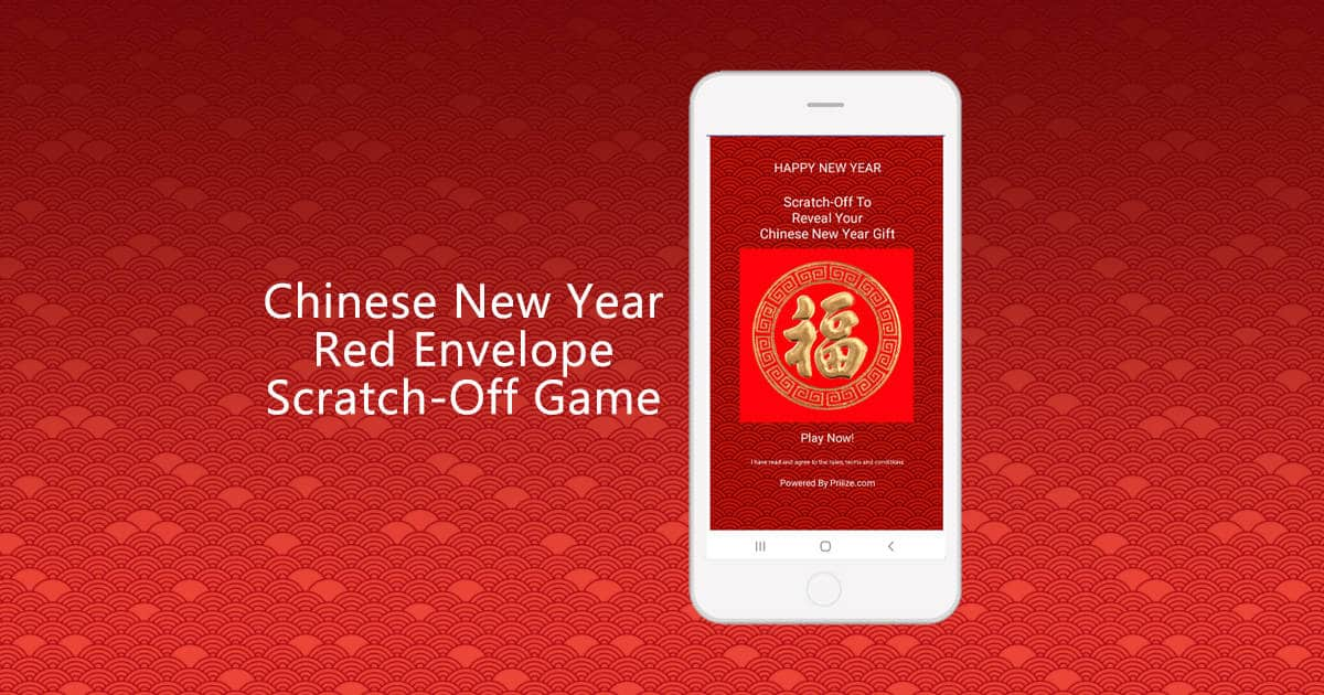 Chinese New Year Red Envelope Scratch-off Game for smartphones - Priiize.com