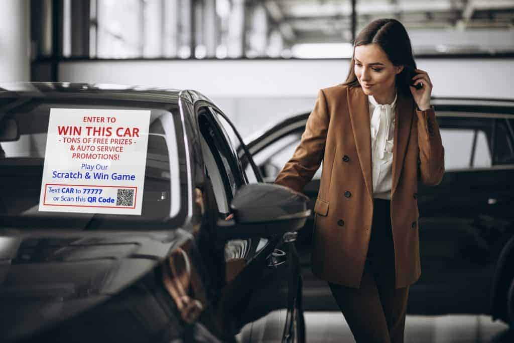 Auto Dealerships Virtual Scratch-Off Games