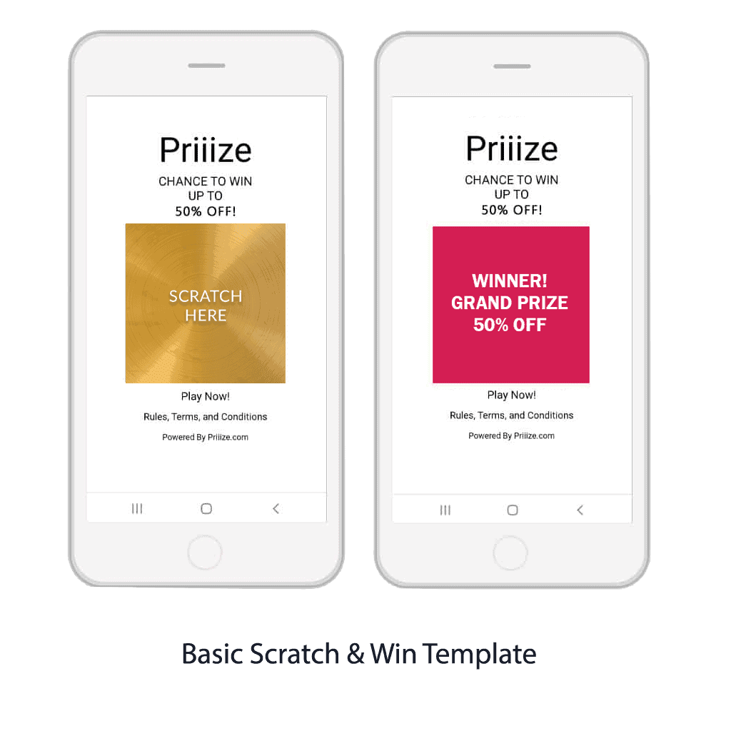 Basic Scratch & Win Template