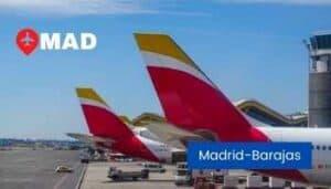 madrid airport spain
