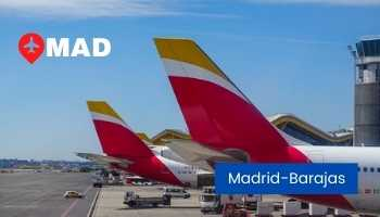 madrid airport spain
