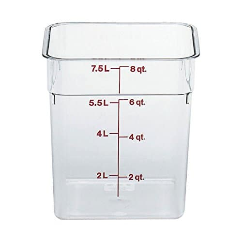 Camwear Polycarbonate Square Food Storage container