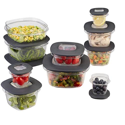 Rubbermaid Premier 28 Pieces Food Storage Set