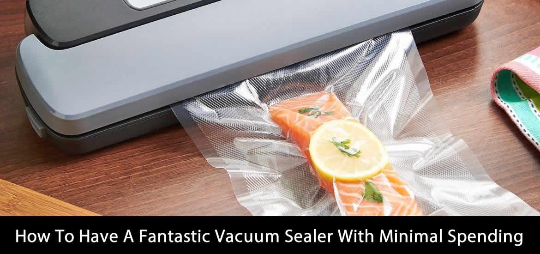 Fantastic Vacuum Sealer With Minimal Spending