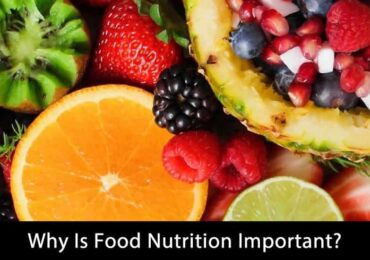 Why Is Food Nutrition Important?