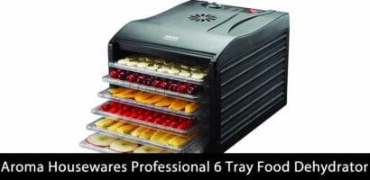 Aroma Housewares Professional 6 Tray Food Dehydrator