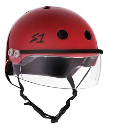 Best for Multi Impact: S-ONE Lifer Visor CPSC Scooter Helmet