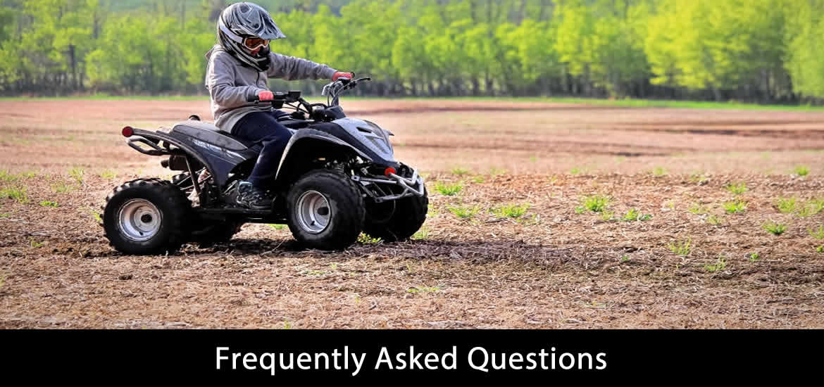 Frequently Asked Questions for kids 4 wheeler