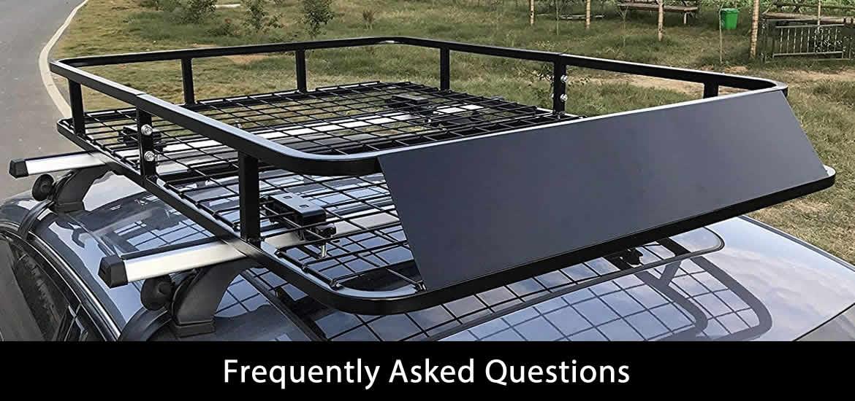 FAQ about best rooftop cargo basket
