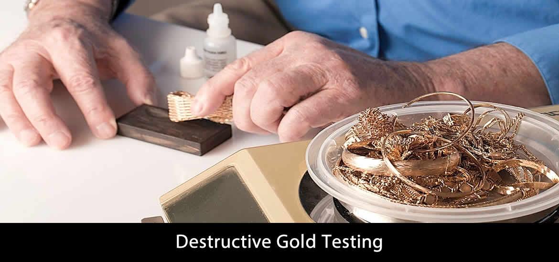 Destructive Gold Testing