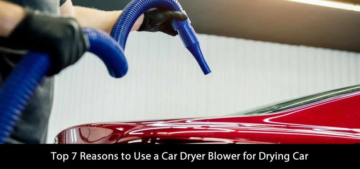 Use a Car Dryer Blower for Drying Car