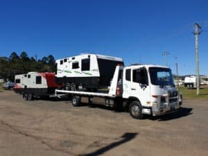24/7 Reliable Caravan Towing