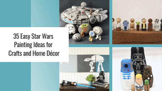 star wars painting ideas graphic