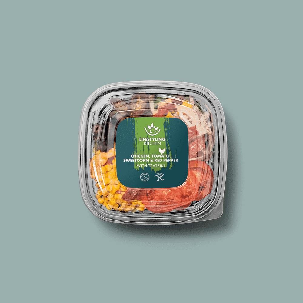 Lifestyling Kitchen packaging