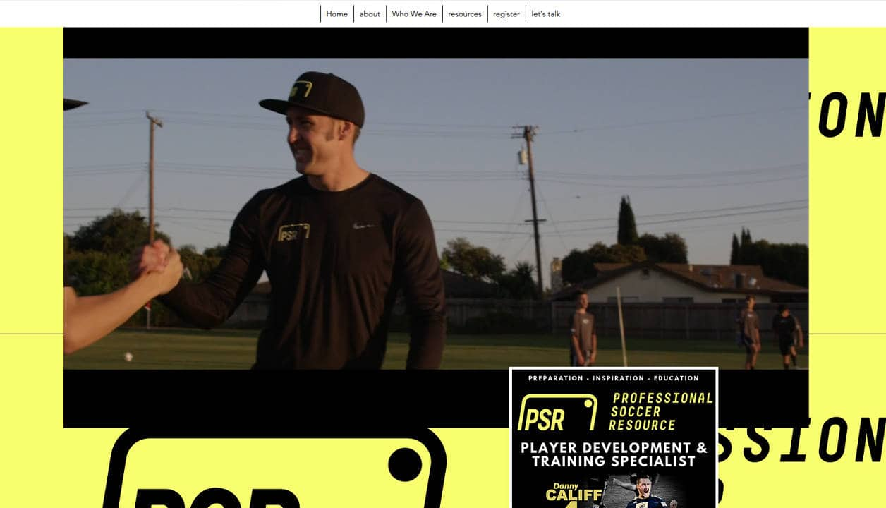 Professional Soccer Resource