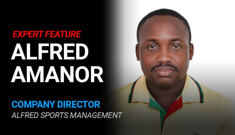 Alfred Amanor – Director of Alfred Sports Management