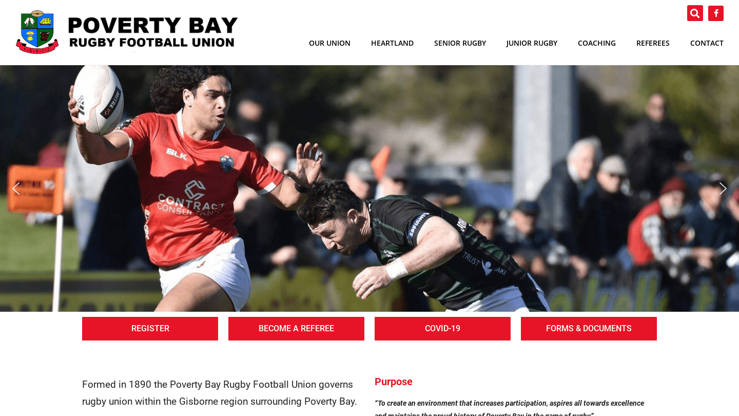 Poverty Bay Rugby Football Union