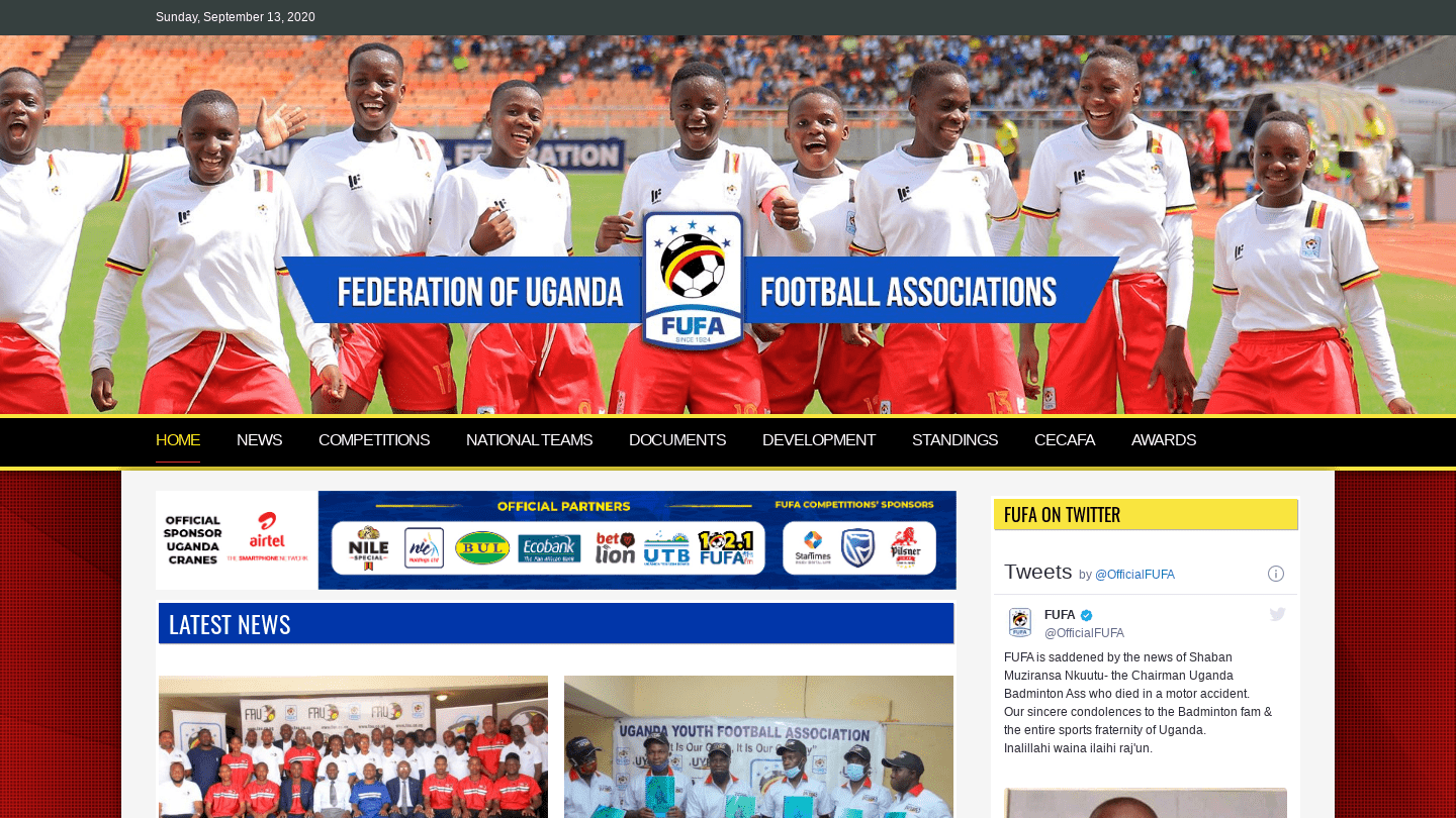 Federation of Uganda Football Associations
