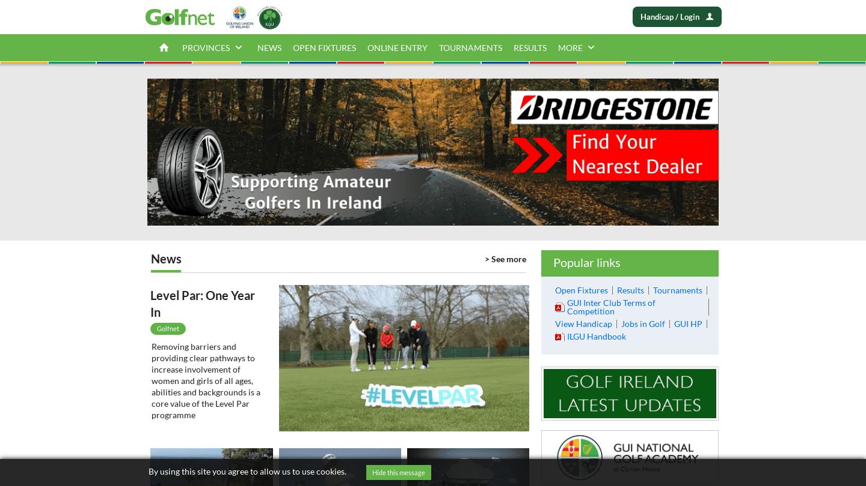 Golfing Union of Ireland