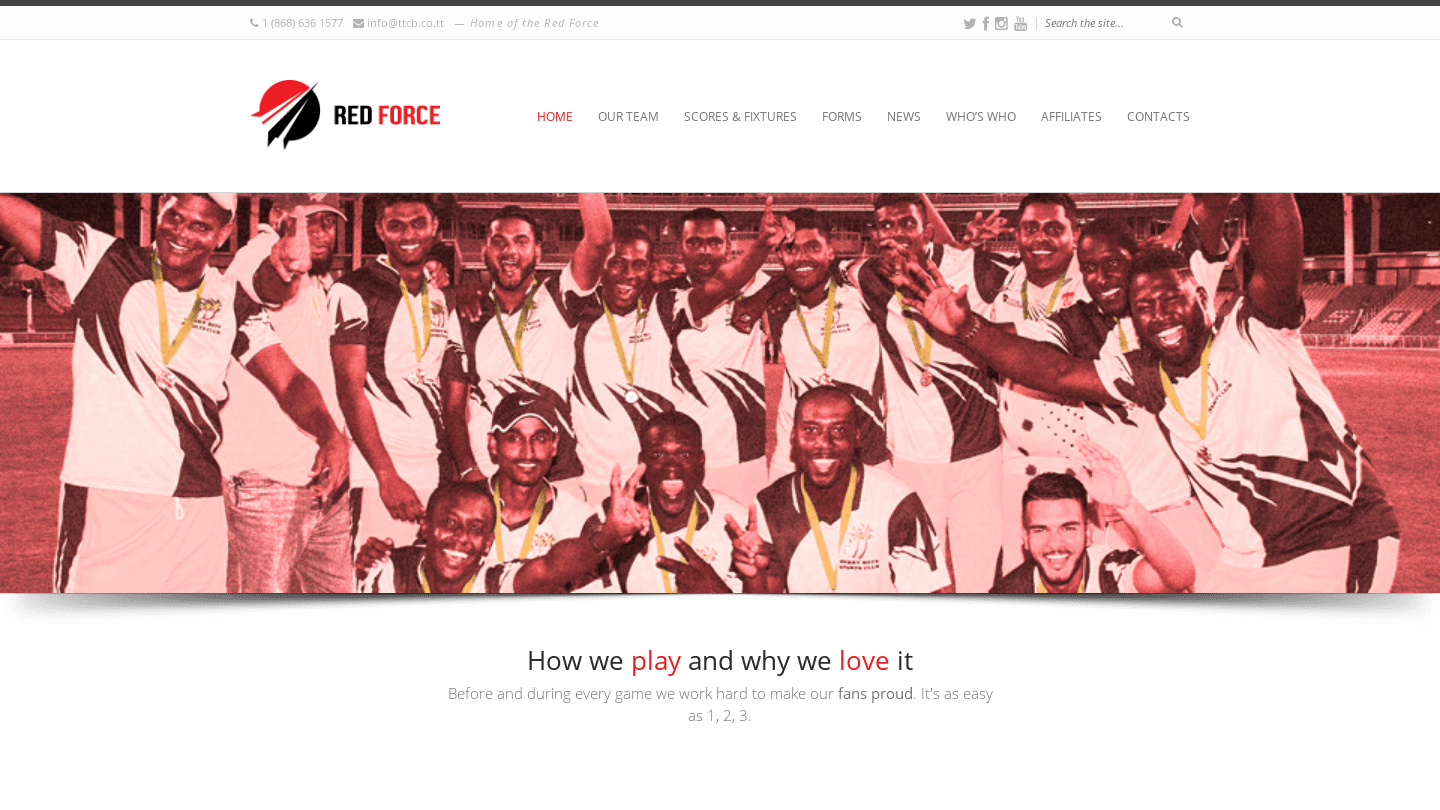 Trinidad and Tobago Red Force