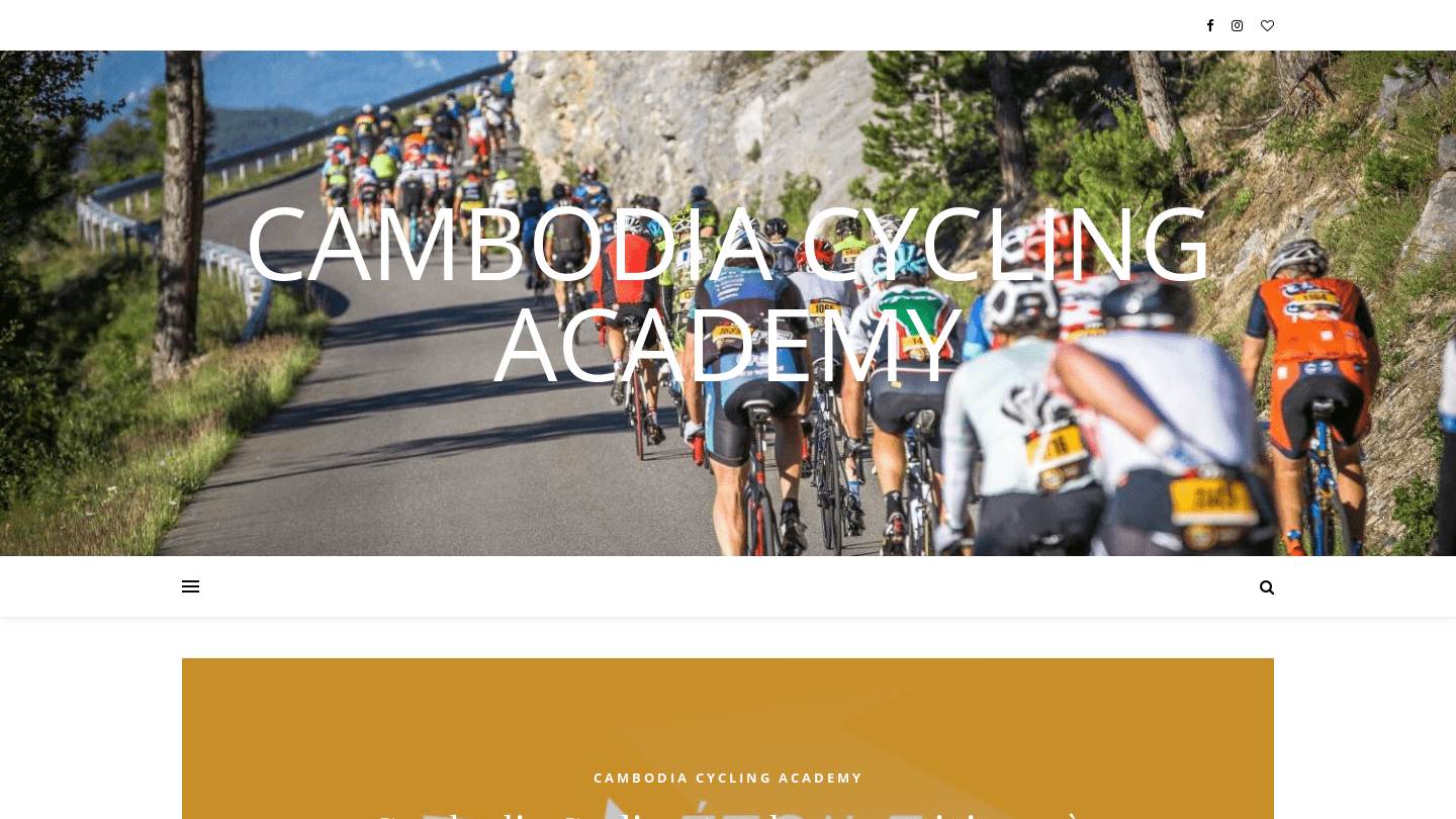Cambodia Cycling Academy