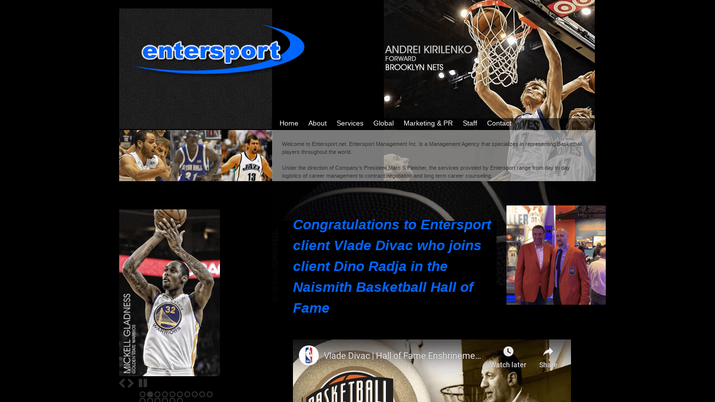 Entersport Management Inc
