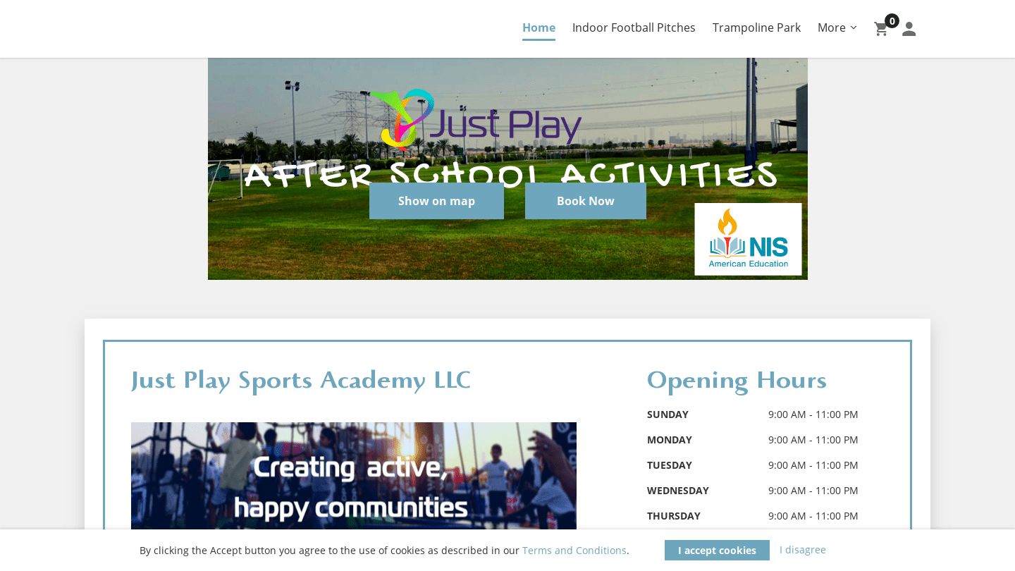 Just Play Sports Academy (UAE)
