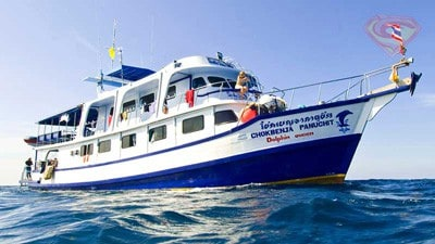 Dolphin Queen Similans liveaboard