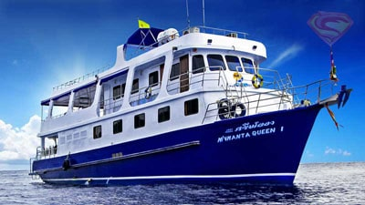 Similan Islands liveaboard Manta Queen 1