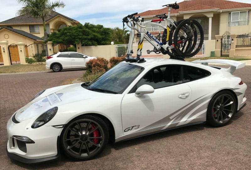 Porsche GT3 Bike Rack