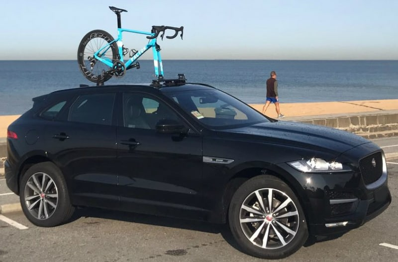 Jaguar F-Pace Bike Rack