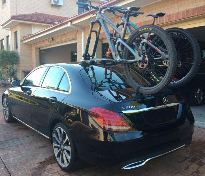 Mercedes C200 Bike Rack