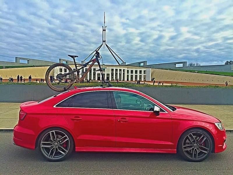 Audi S3 Bike Rack