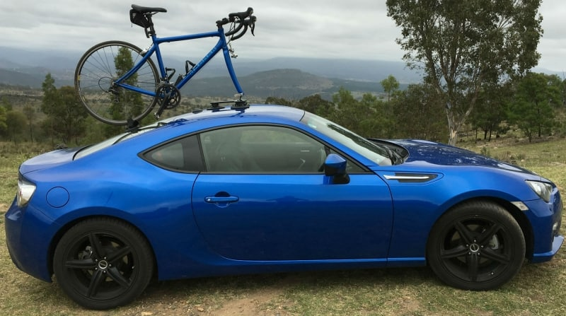 Subaru BRZ Bike Rack